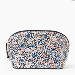 kate spade cameron street ditsy vine cosmetic bag